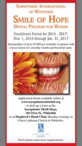 Smile of Hope - Soroptimist Whitefish