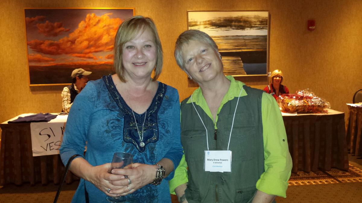 Tonya Konopka and Mary Drew Powers