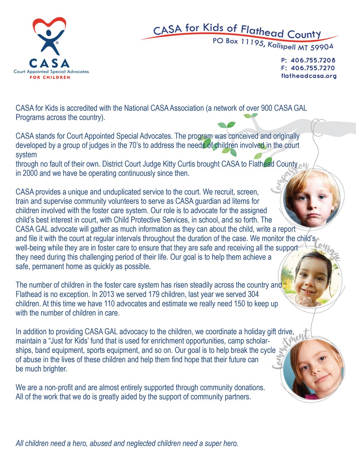 CASA-for-Kids